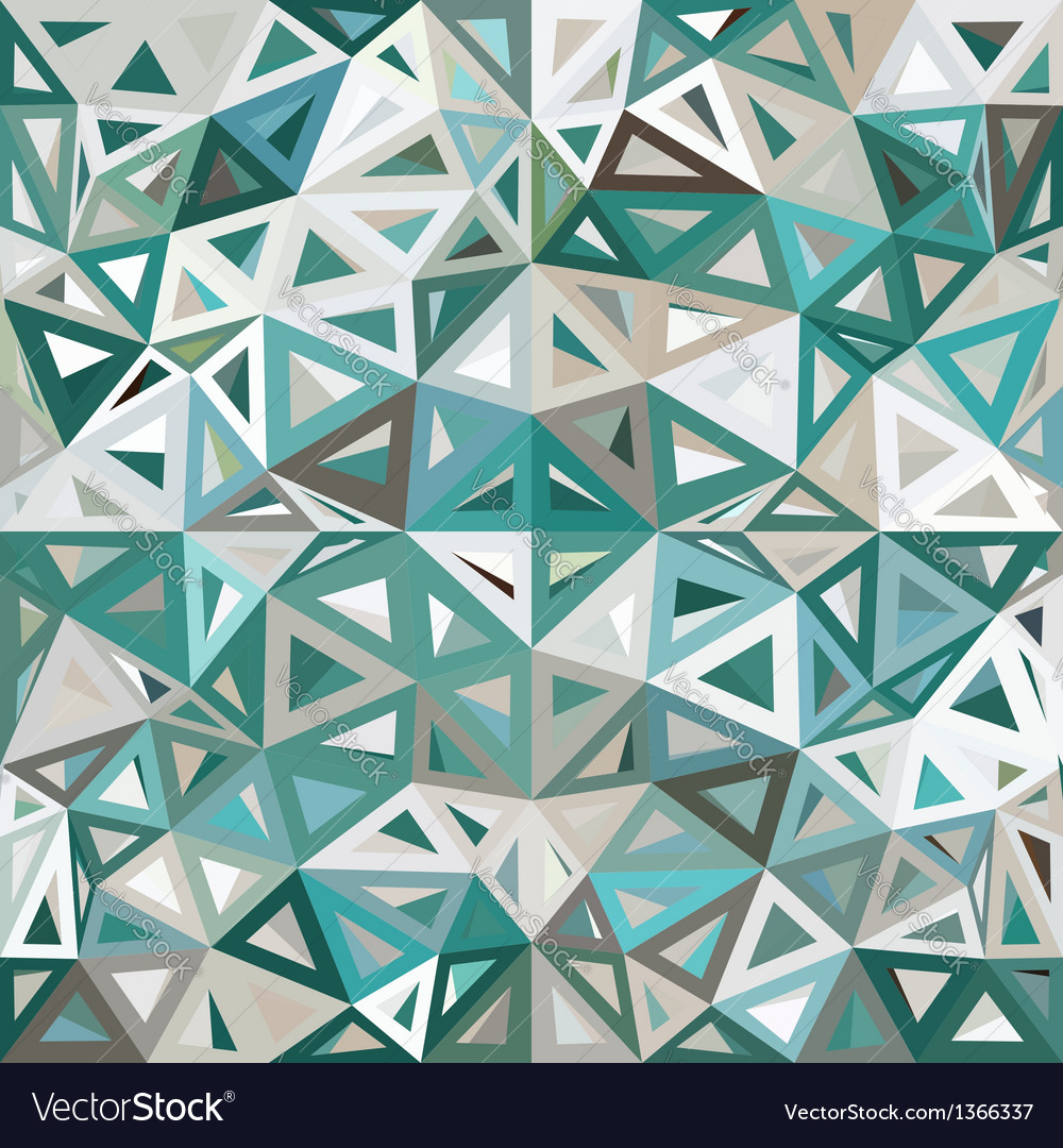 Blue and gray mottled abstract triangles vector | Price: 1 Credit (USD $1)