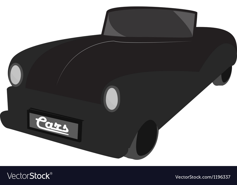 Retro car vintage graphic eps10 vector | Price: 1 Credit (USD $1)