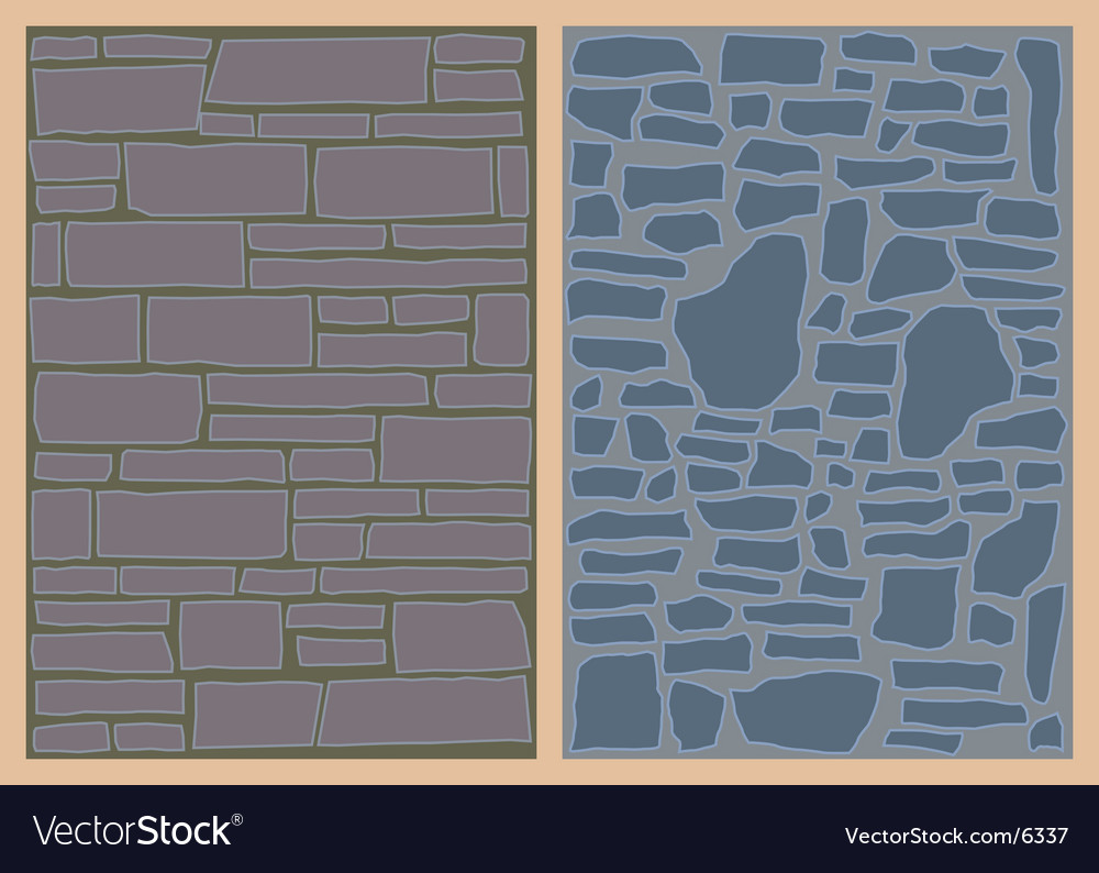 Stone walls vector | Price: 1 Credit (USD $1)