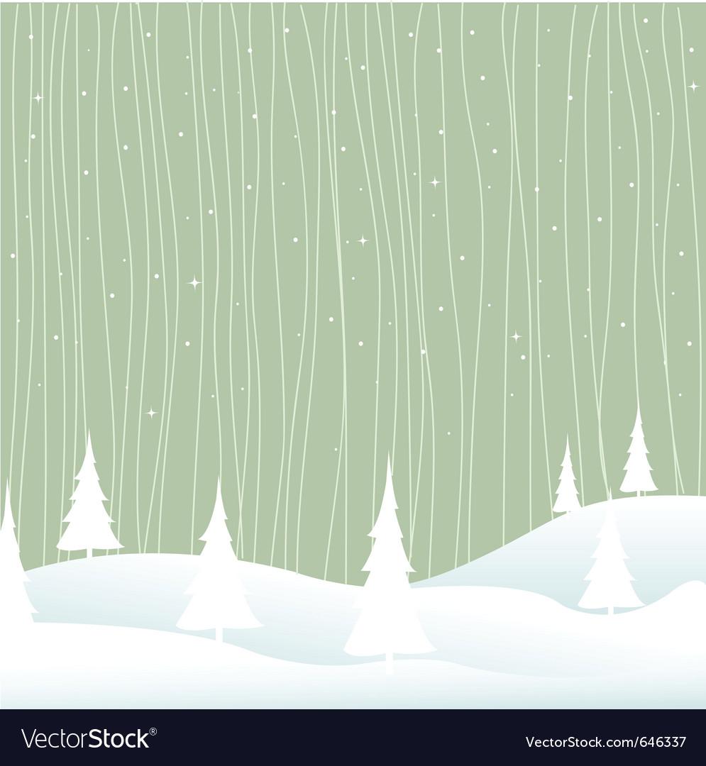 Winter  christmas vector