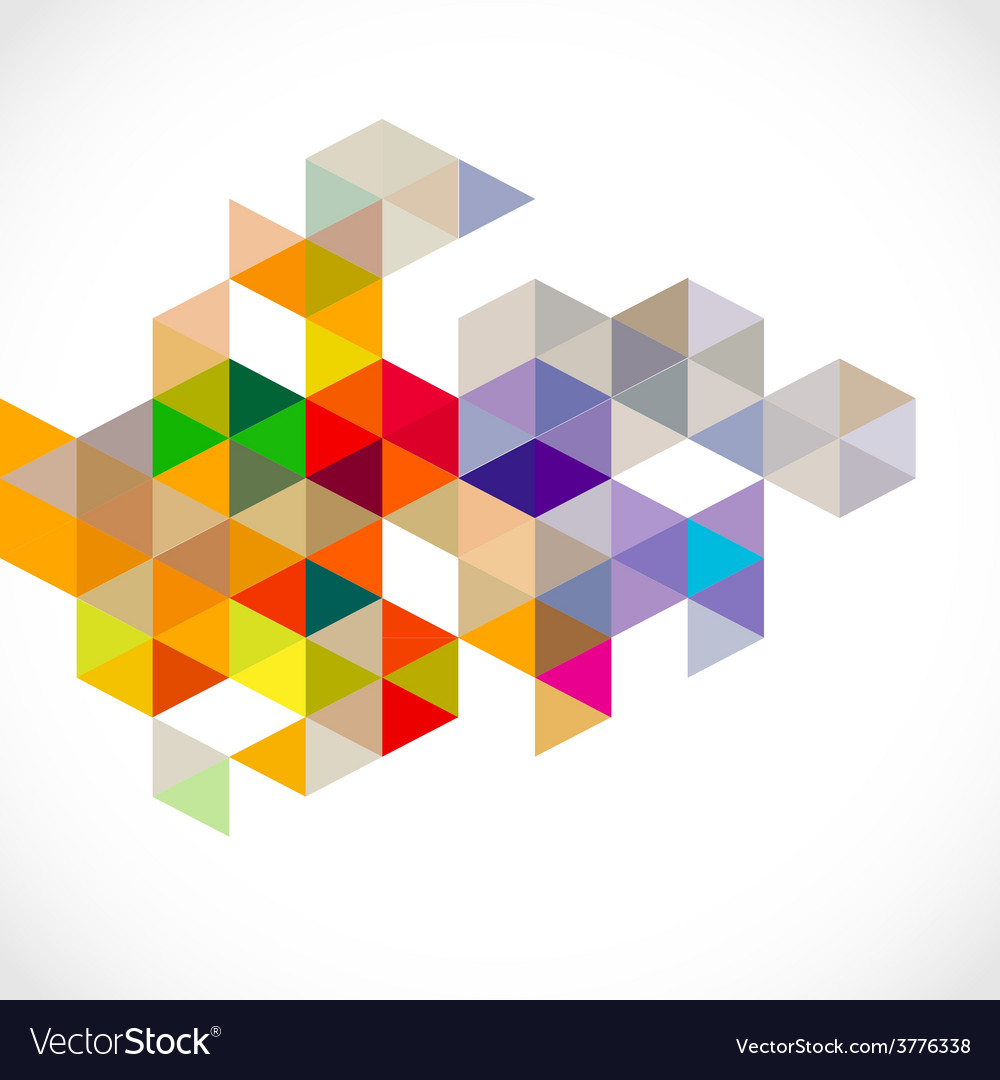 Abstract colorful modern polygon template vector | Price: 1 Credit (USD $1)