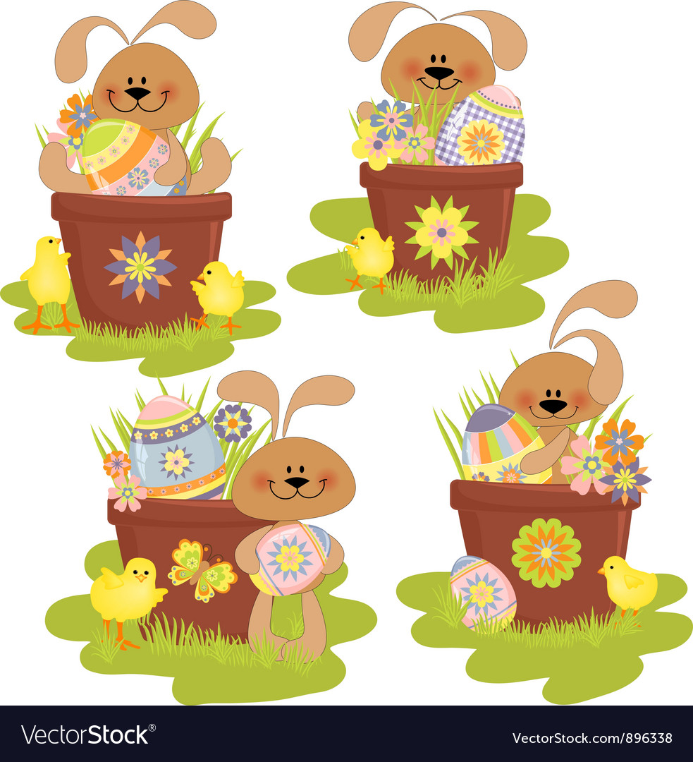 Cute easter vector | Price: 3 Credit (USD $3)