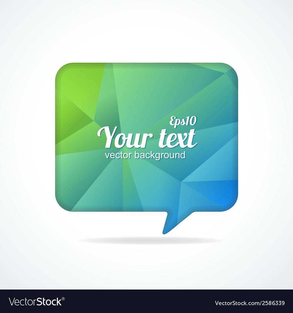 Modern banner design template for text vector | Price: 1 Credit (USD $1)