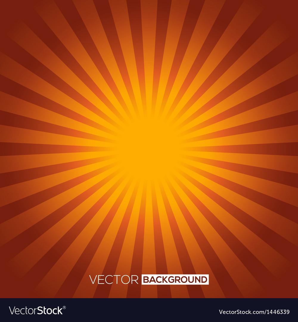 Sunburst background vector   Price: 1 Credit (USD $1)