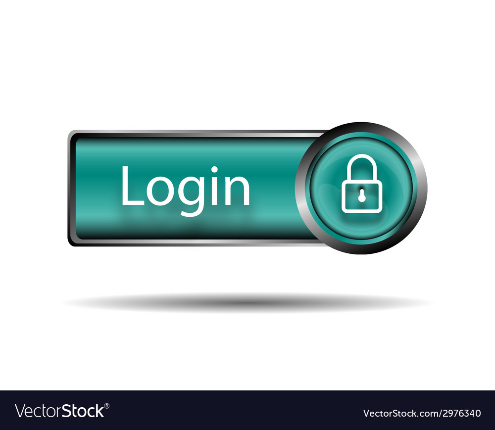 Login button sign vector | Price: 1 Credit (USD $1)
