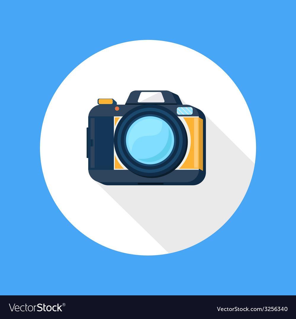 Photo camera icon vector   Price: 1 Credit (USD $1)