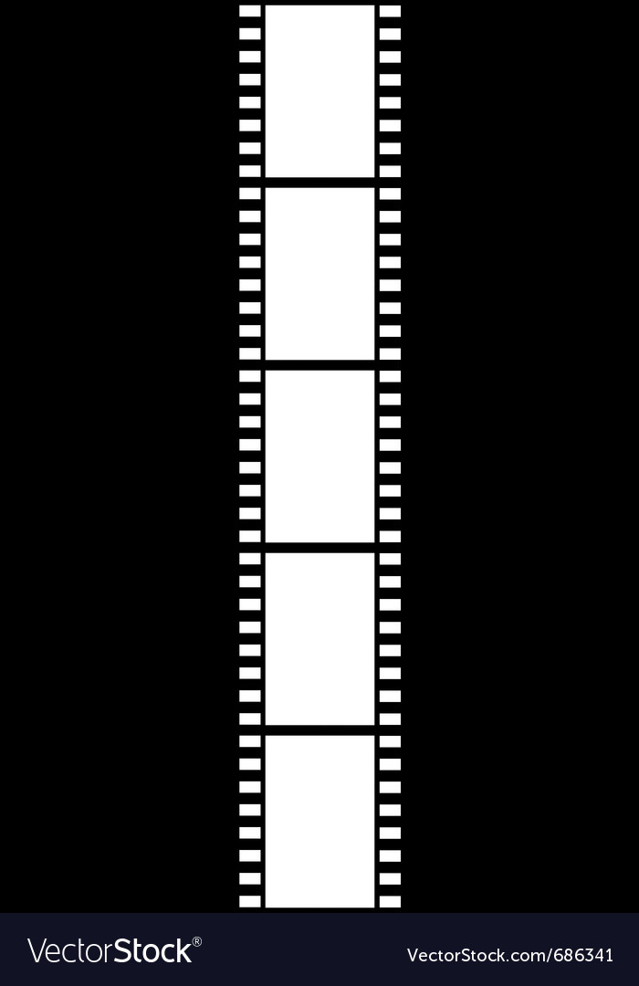 Film strip isolated vector | Price: 1 Credit (USD $1)