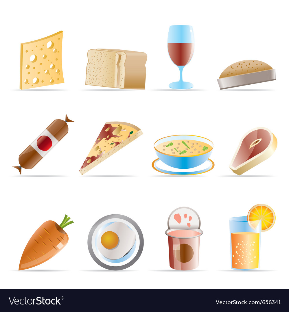 Food and drink icons 2 vector | Price: 1 Credit (USD $1)