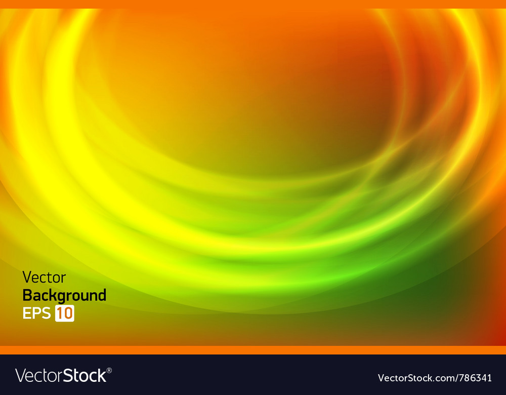 Gold green circle abstract background vector | Price: 1 Credit (USD $1)