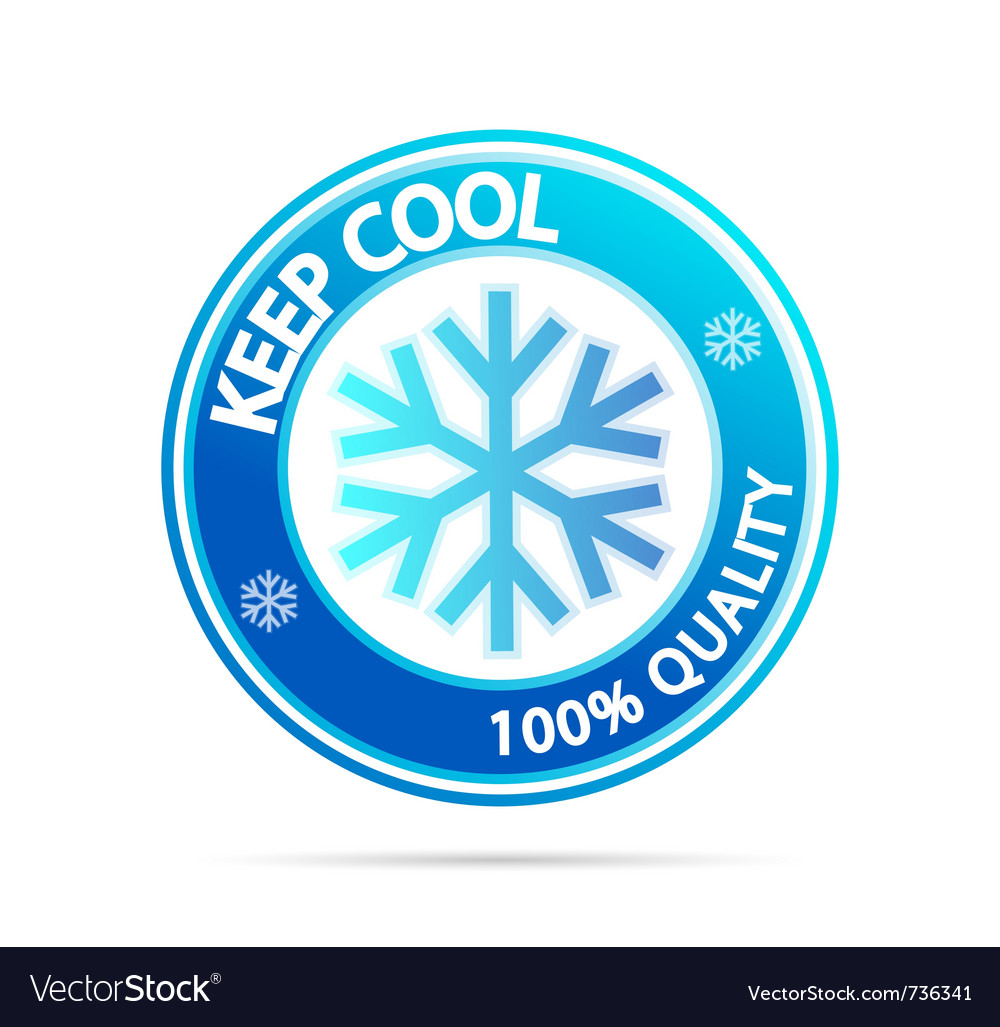 Keep cool vector | Price: 1 Credit (USD $1)