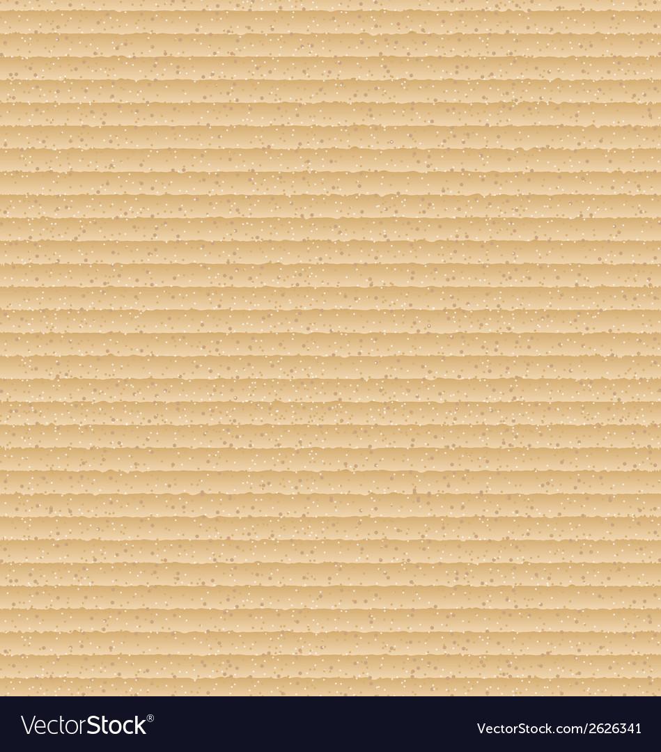 Realistic carton texture cardboard pattern vector | Price: 1 Credit (USD $1)