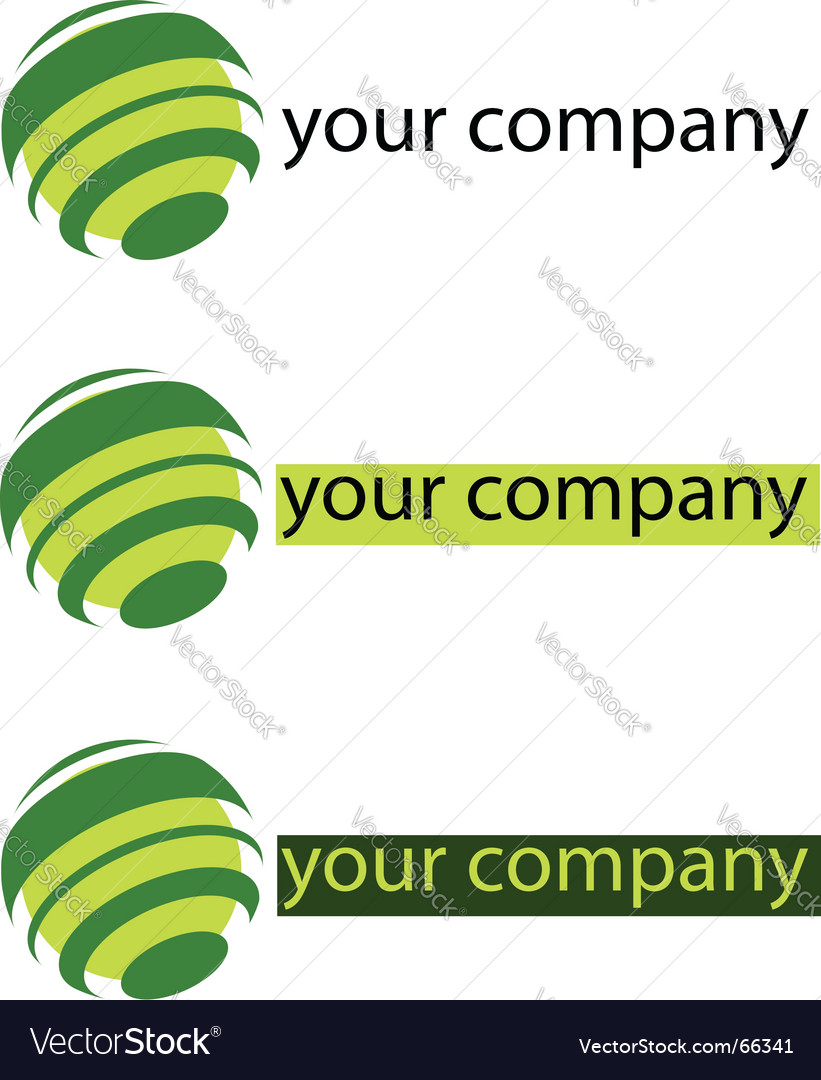 Your company green logo vector | Price: 1 Credit (USD $1)