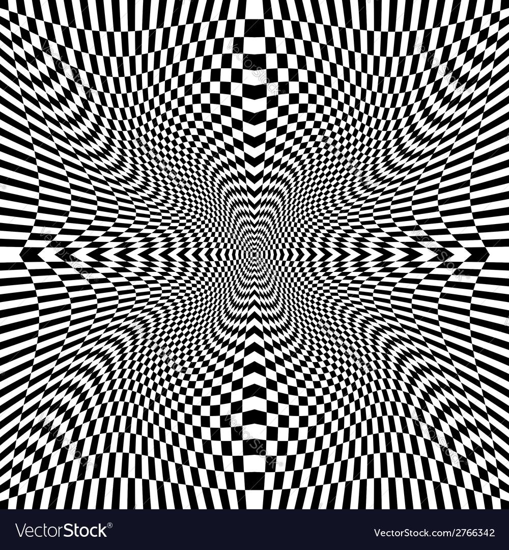 Design monochrome movement checkered background vector | Price: 1 Credit (USD $1)