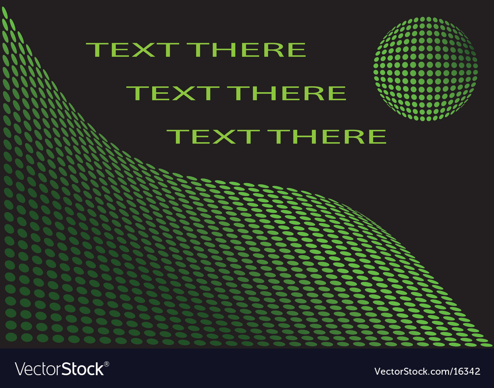 For text green abstract background vector | Price: 1 Credit (USD $1)