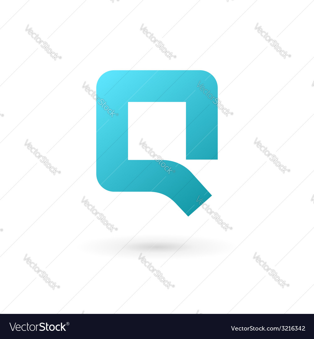 Letter q logo icon design template elements vector | Price: 1 Credit (USD $1)