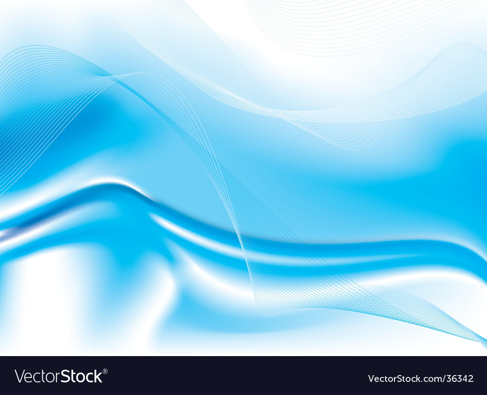 Ocean flow design vector | Price: 1 Credit (USD $1)