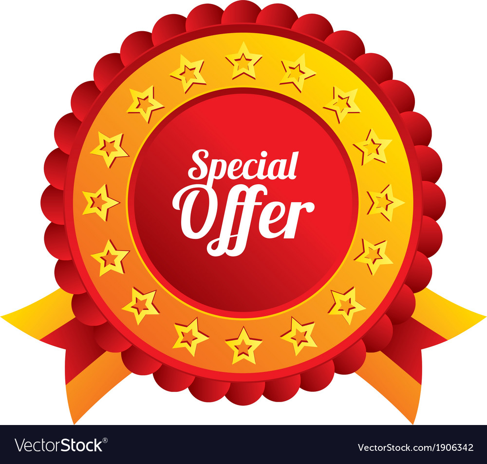 Special offer sign icon sale symbol vector | Price: 1 Credit (USD $1)