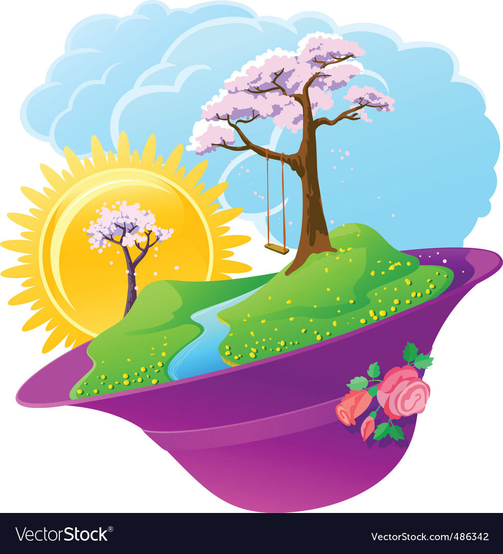 Spring season vector | Price: 3 Credit (USD $3)