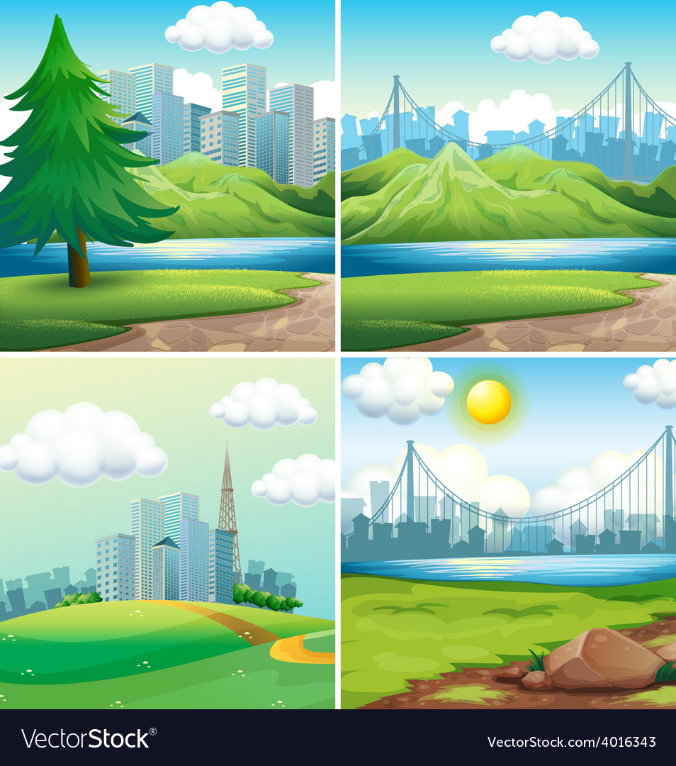 Cities and parks vector   Price: 3 Credit (USD $3)