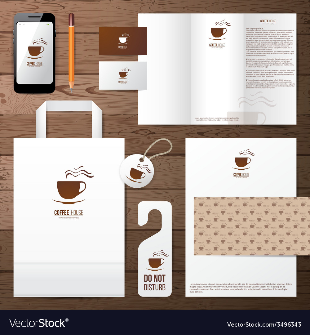 Coffee house identity template vector | Price: 1 Credit (USD $1)