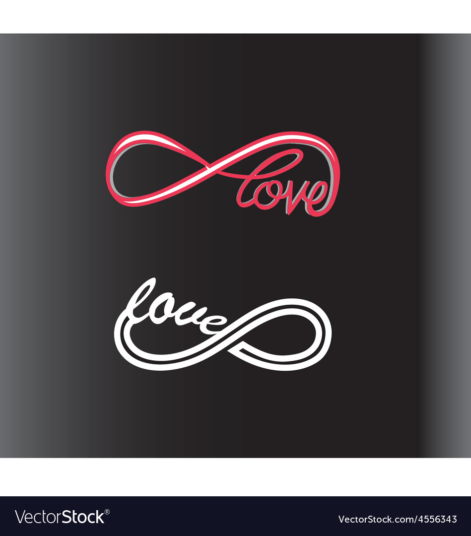 Infinity love vector   Price: 1 Credit (USD $1)