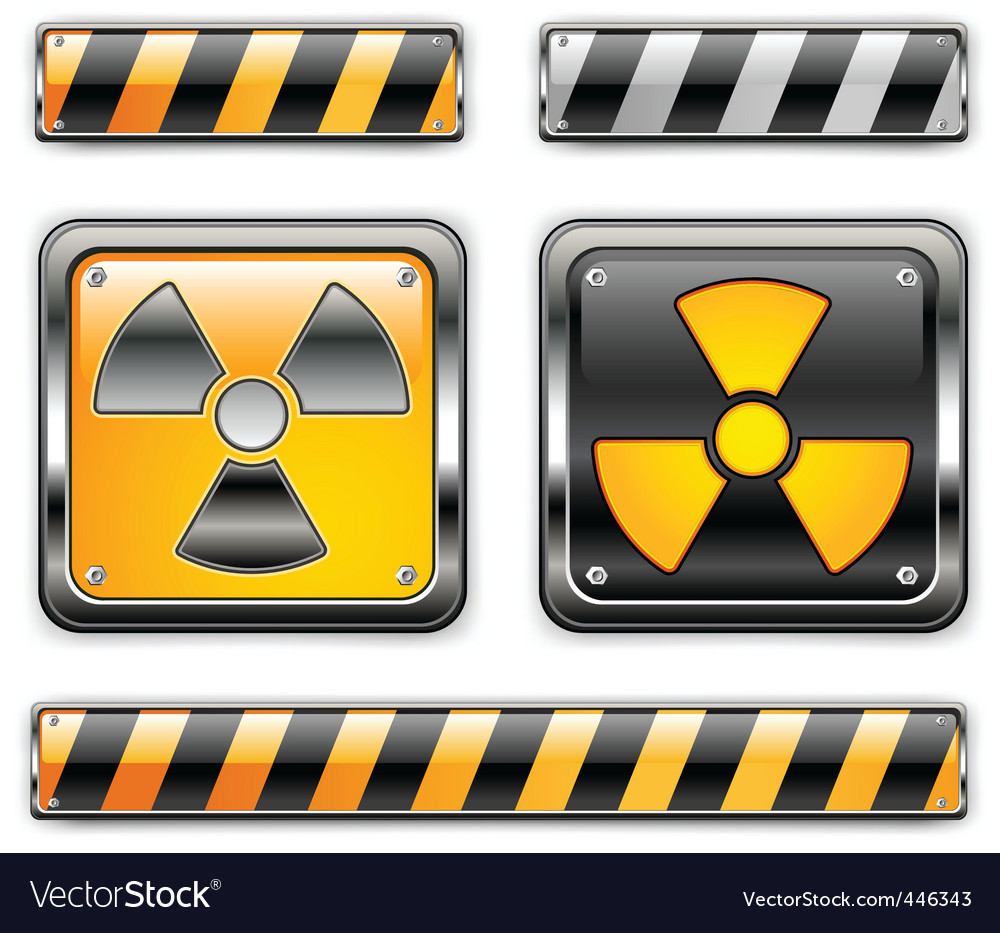 Nuclear icon vector | Price: 1 Credit (USD $1)