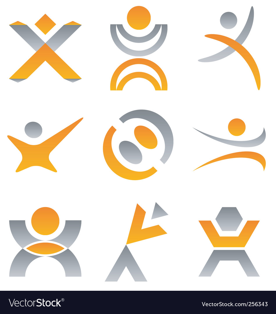 People logo vector | Price: 1 Credit (USD $1)