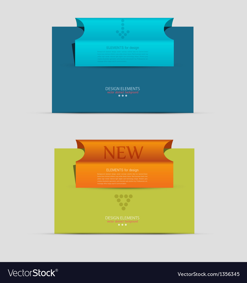 Banner business unit vector | Price: 1 Credit (USD $1)