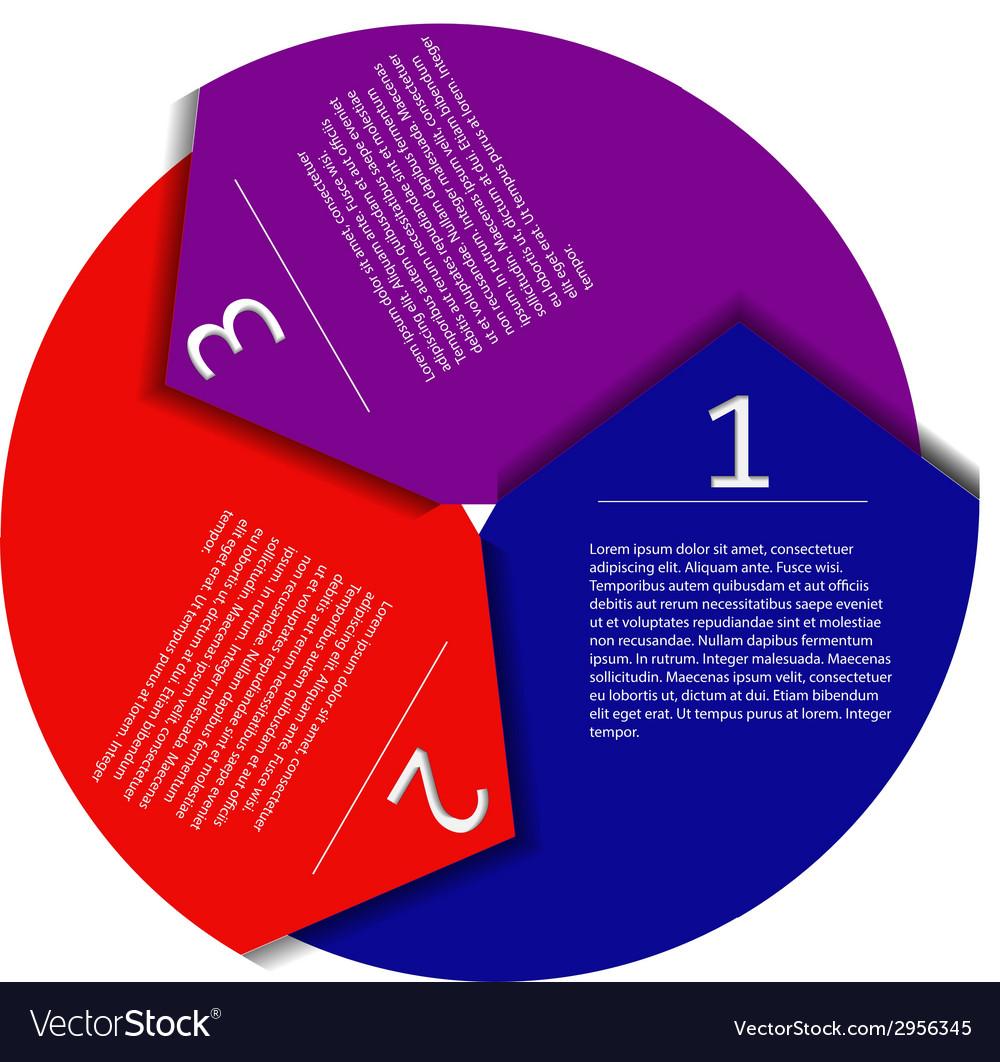 Infographic arrow vector | Price: 1 Credit (USD $1)