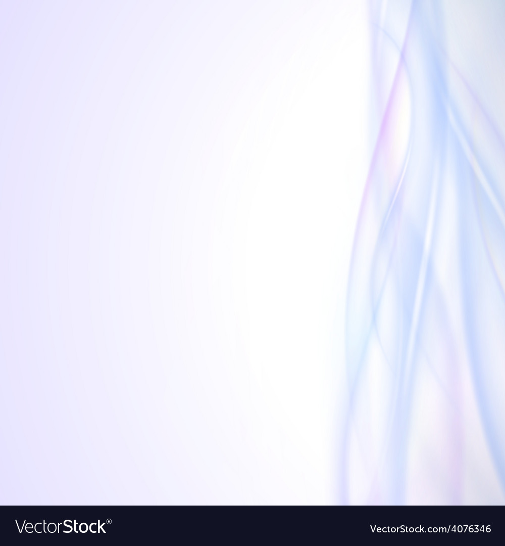 Abstract blue wave background light design vector | Price: 1 Credit (USD $1)
