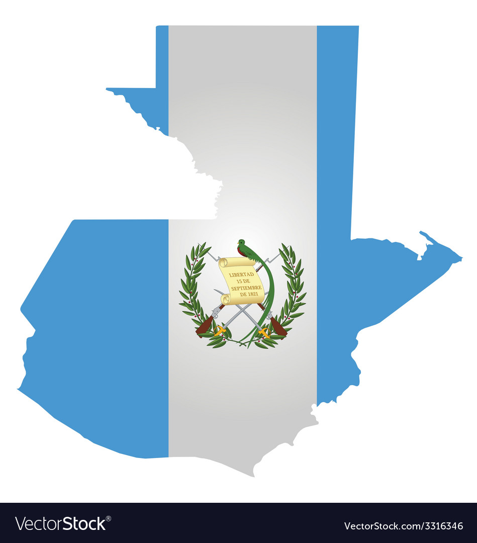 Guatemala flag vector