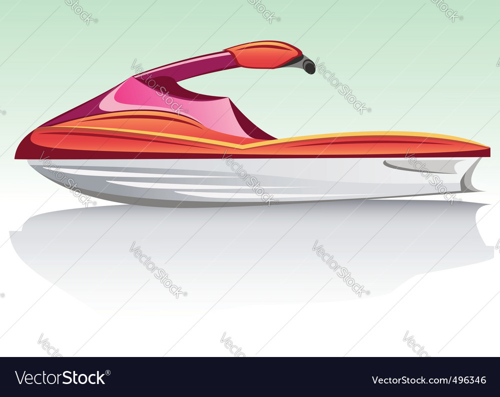 Jet ski vector | Price: 3 Credit (USD $3)