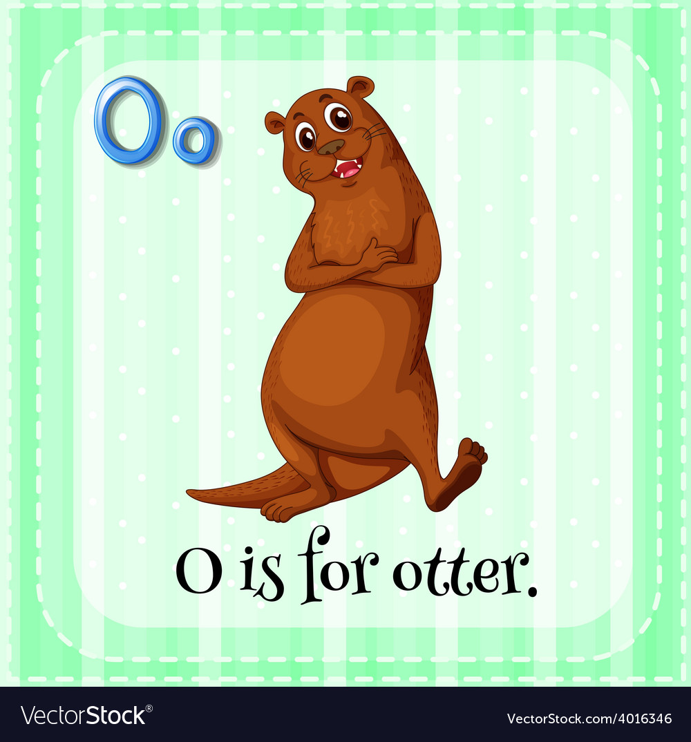 Letter o vector | Price: 1 Credit (USD $1)
