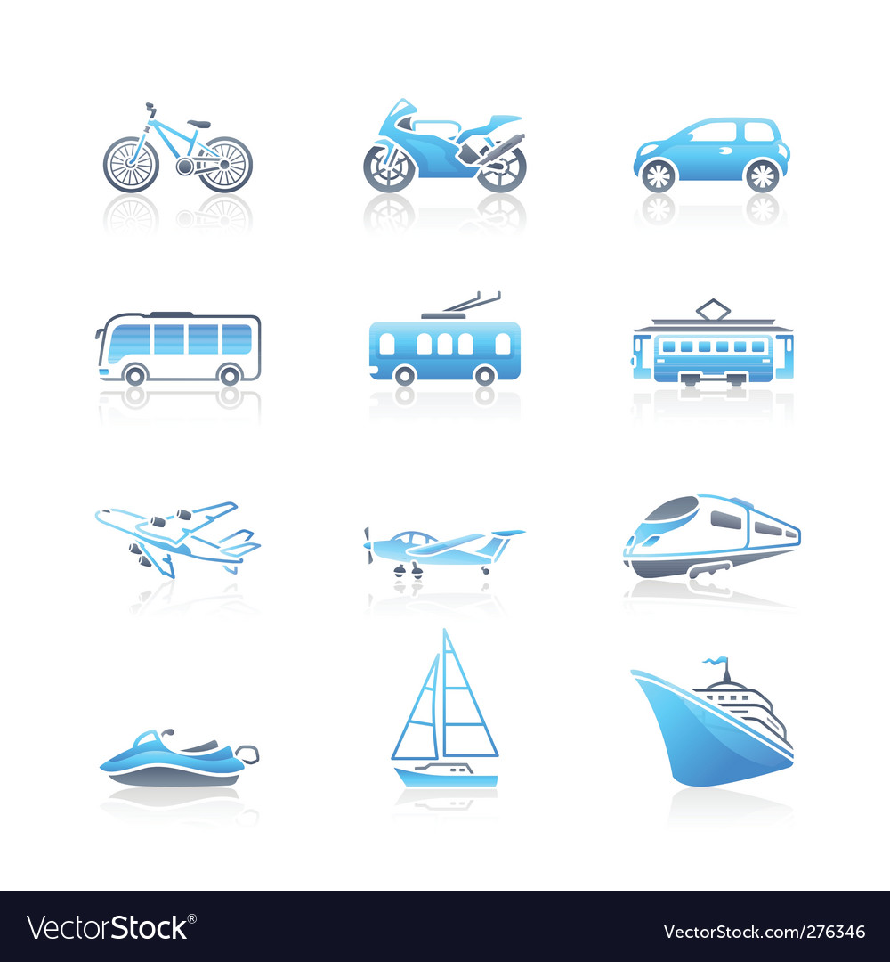 Transportation icons  marine vector | Price: 1 Credit (USD $1)