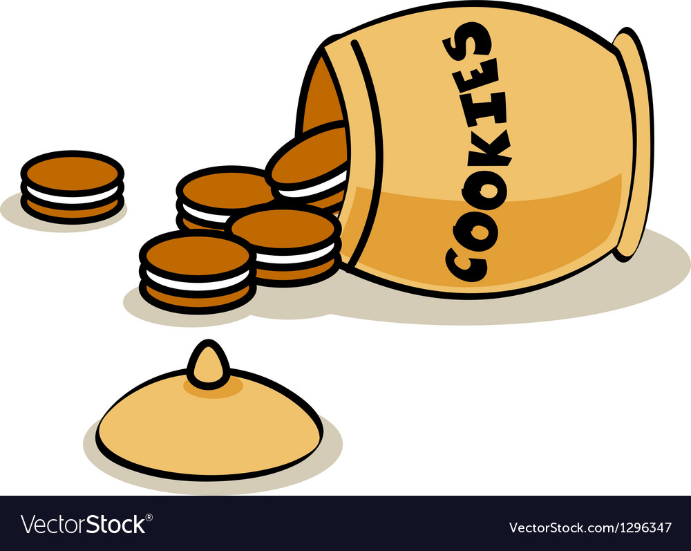 Cookie jar vector | Price: 1 Credit (USD $1)