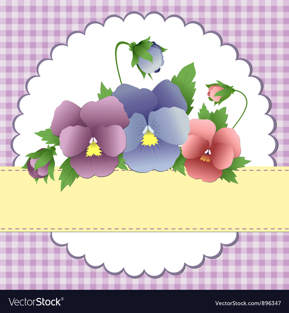 Mothers day postcard vector | Price: 1 Credit (USD $1)