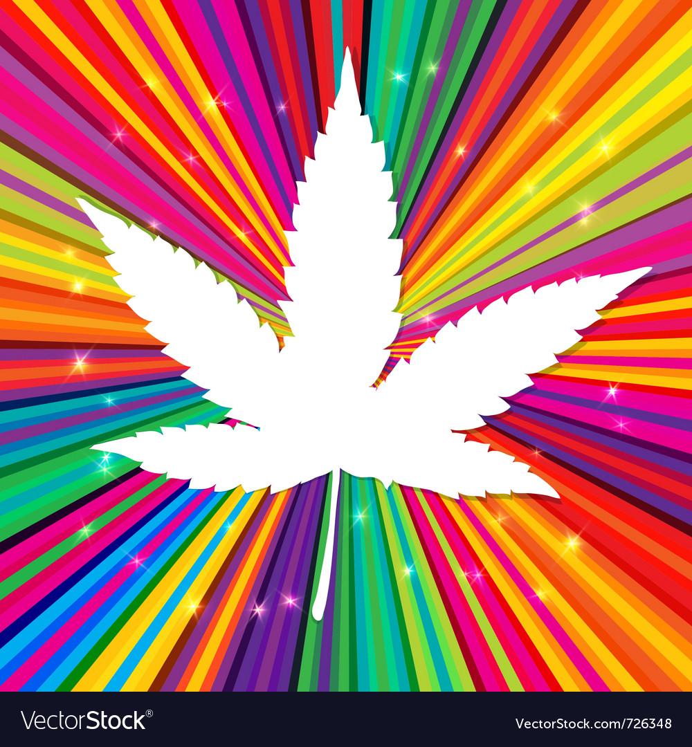 Cannabis leaf vector | Price: 1 Credit (USD $1)
