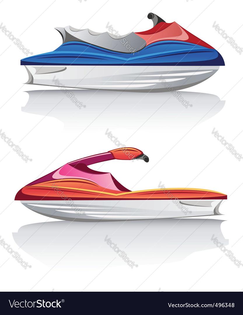 Jet ski vector | Price: 3 Credit (USD $3)