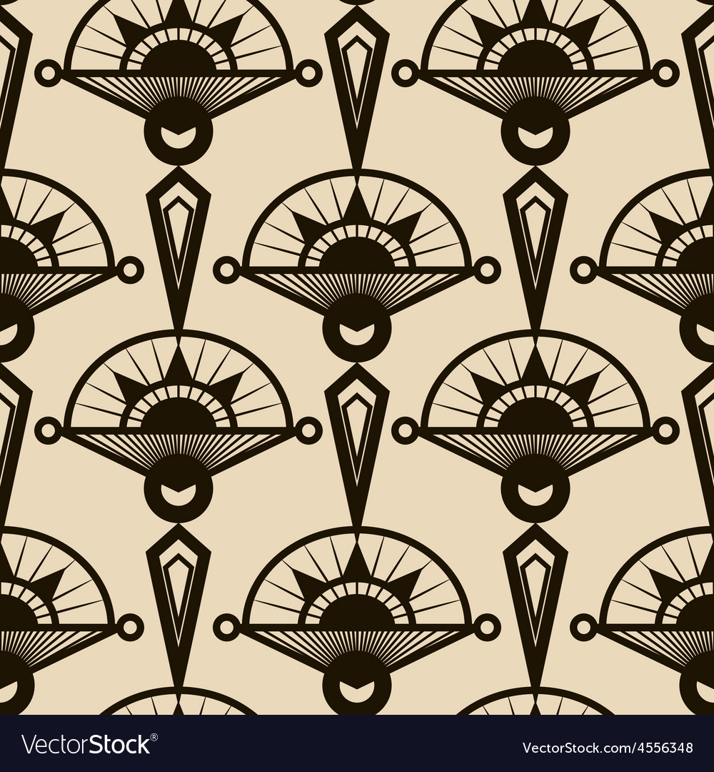 Seamless antique pattern ornament vector | Price: 1 Credit (USD $1)