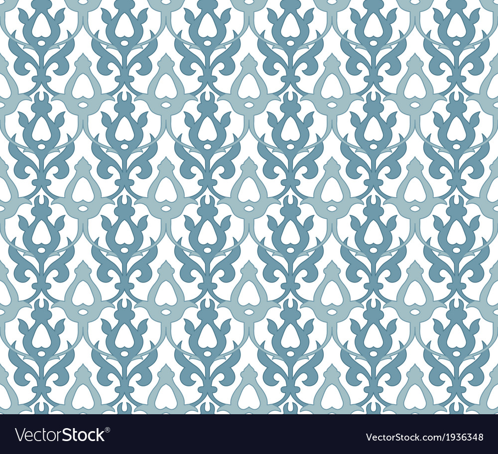 Seamless background traditional arabic motifs vector | Price: 1 Credit (USD $1)