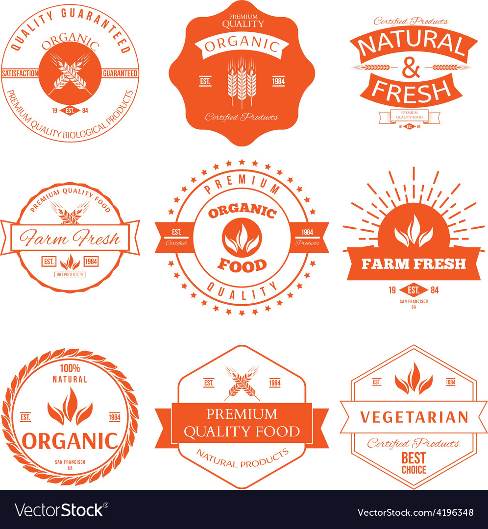 Set of vintage style elements for labels and vector | Price: 1 Credit (USD $1)