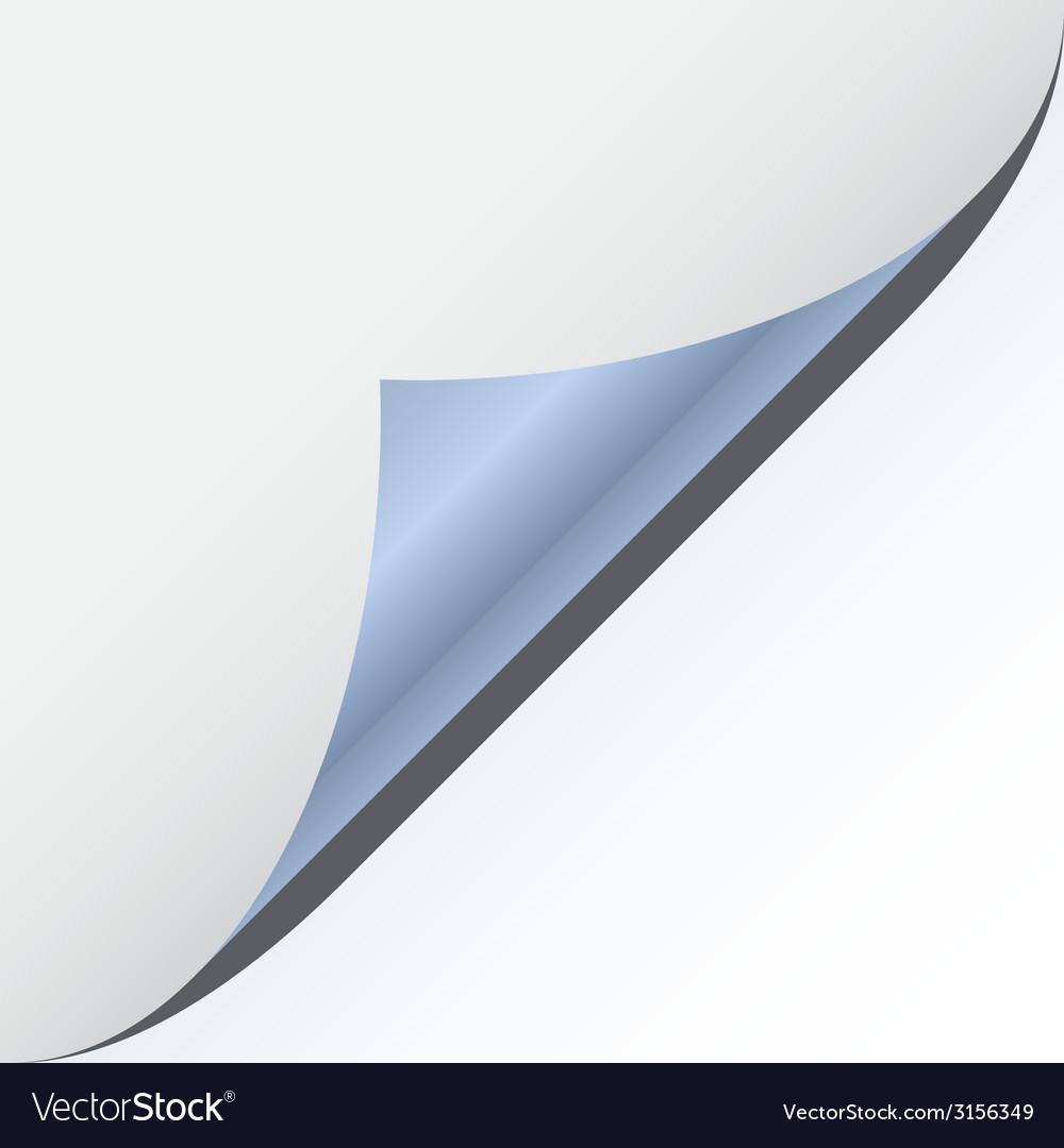 Page corner with metallic backs vector | Price: 1 Credit (USD $1)