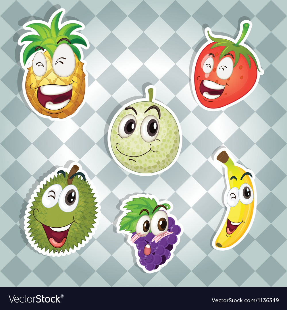 Various fruits vector | Price: 1 Credit (USD $1)