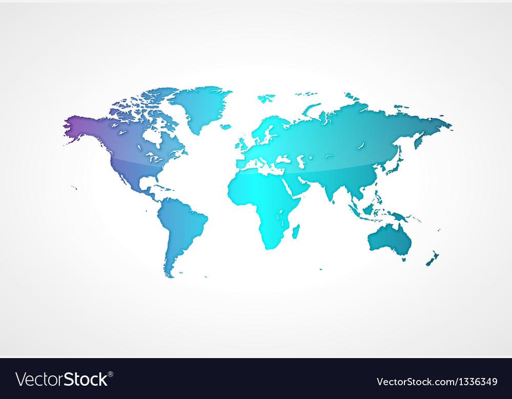 World map vector   Price: 1 Credit (USD $1)