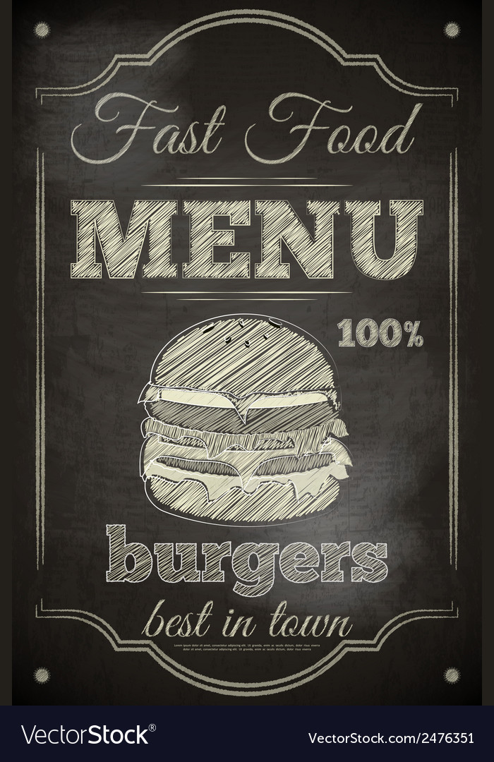 Burger menu vector | Price: 1 Credit (USD $1)