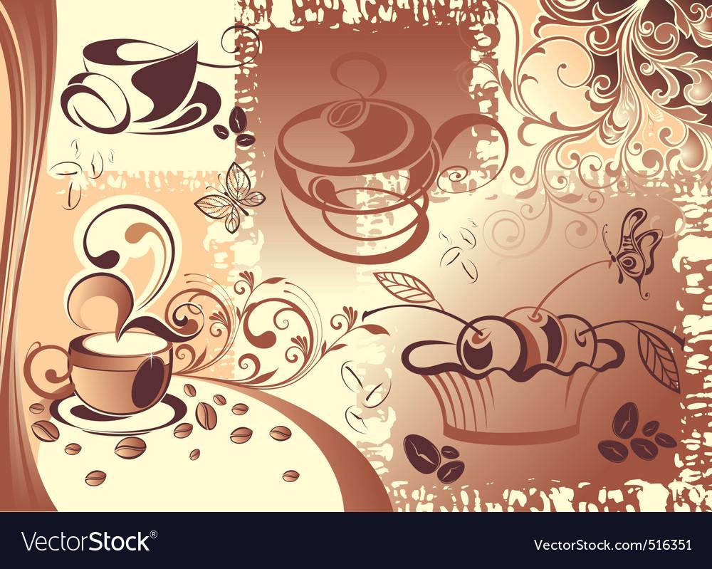 Coffee cup design vector | Price: 3 Credit (USD $3)