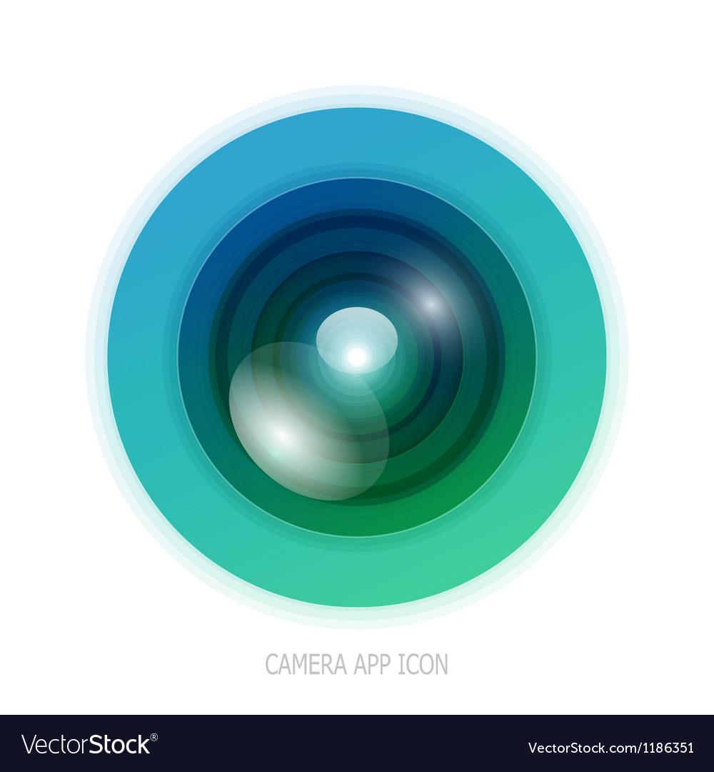 Colorful camera app vector | Price: 1 Credit (USD $1)