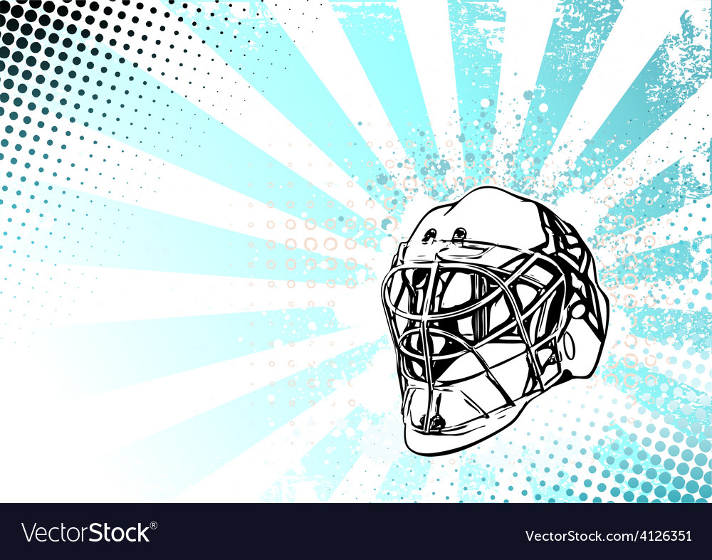 Ice hockey poster vector | Price: 3 Credit (USD $3)