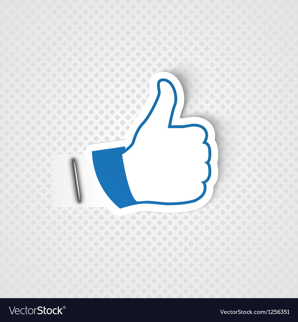 Like symbol vector | Price: 1 Credit (USD $1)