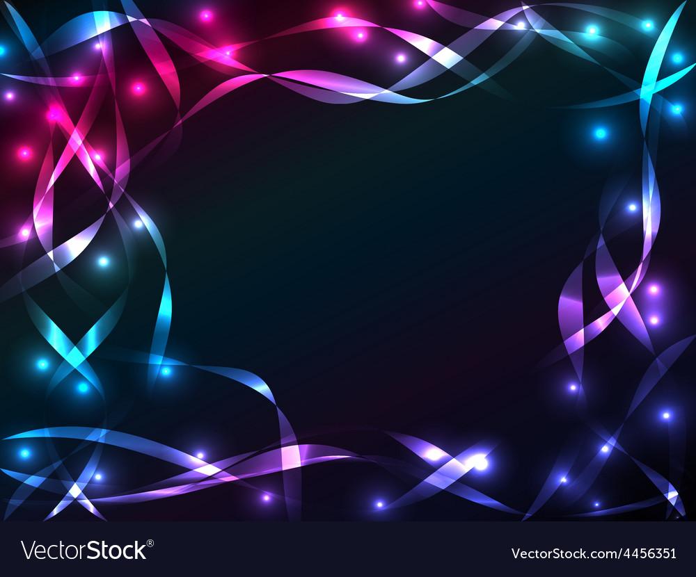 Shiny plasma ribbon background vector | Price: 1 Credit (USD $1)